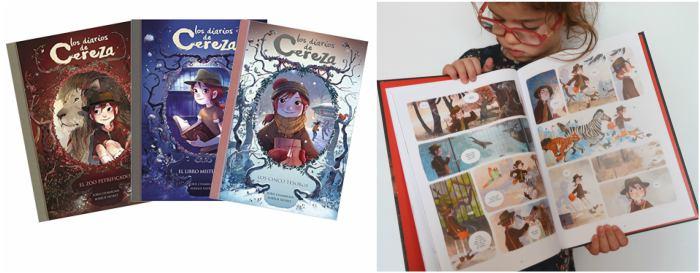 coleccion comics niños los diarios de cereza
