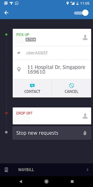 uberAssist ride