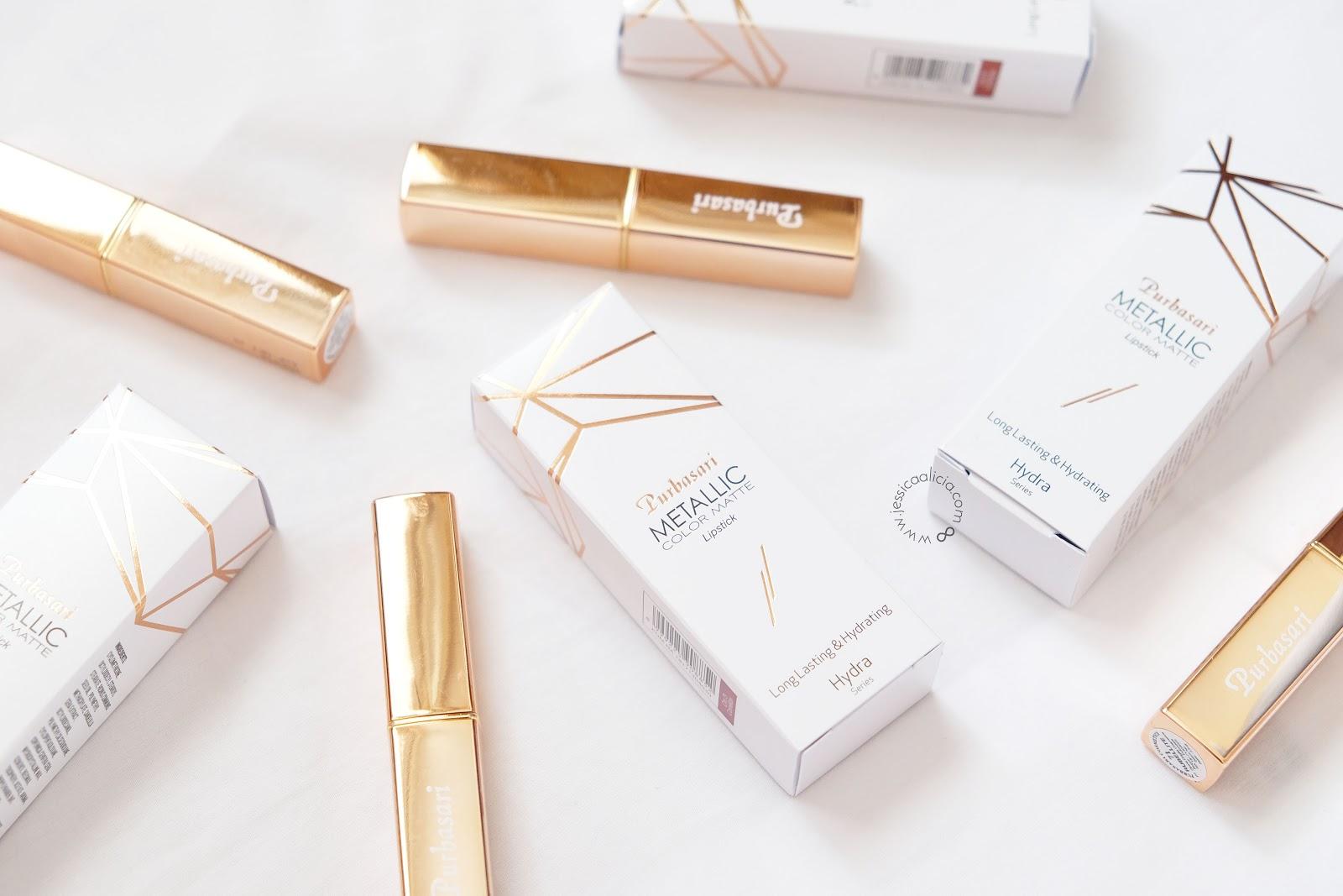 Review Purbasari Metallic Color Matte Lipstick Jessica Alicias Lipstik Collor Januari Kemarin Baru Saja Launching Rangkaian Lipsticknya Yang Terbaru Yaitu Akan Aku Hari