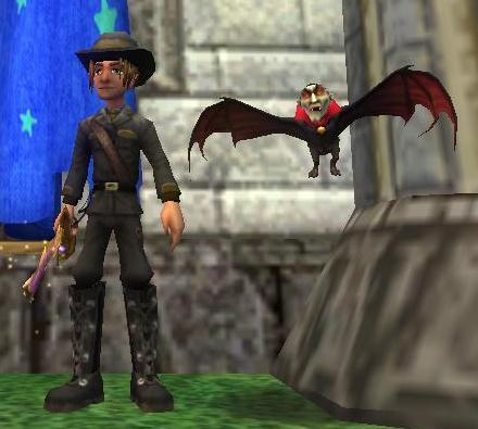Wizard101 Halloween 2013 - Vampire Pet Nightmare Pack