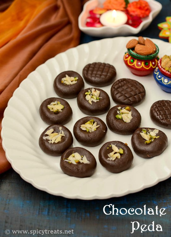 Chocolate Peda Recipe