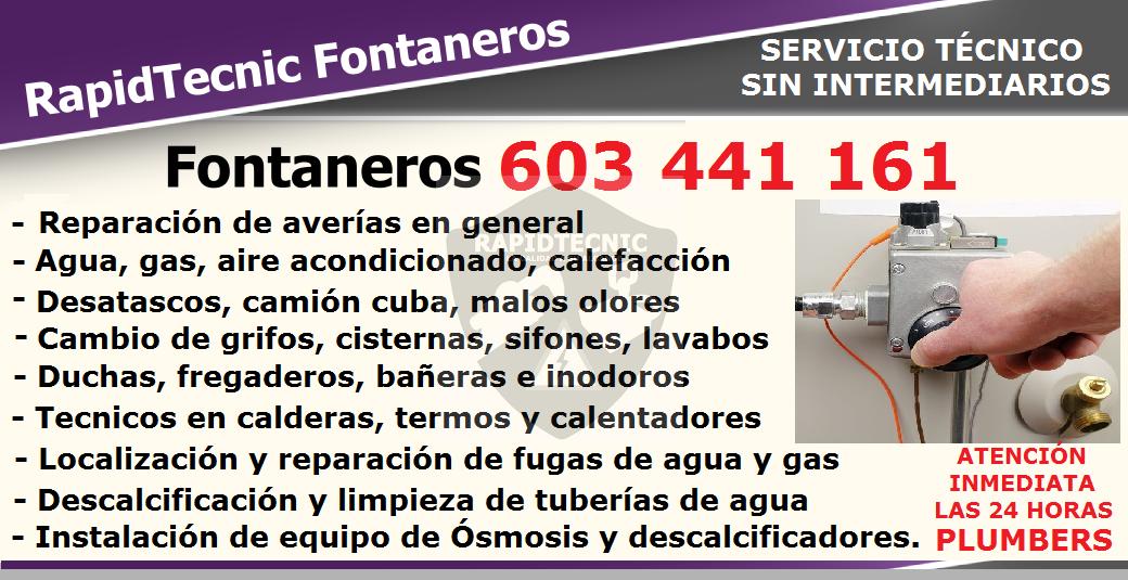 Rapidtecnic madrid fontaneros vallehermoso madrid 603 - Fontaneros en madrid ...