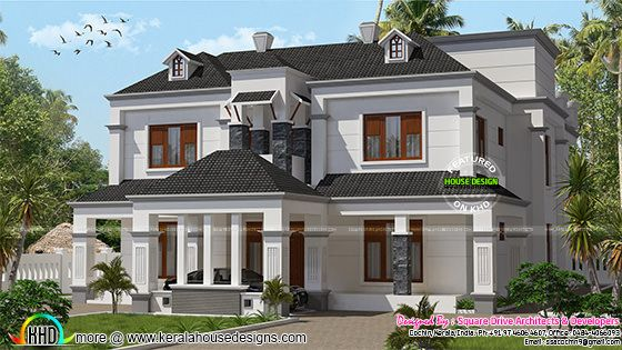 Colonial model 3834 sq-ft home