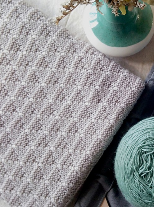 Keith Baby Blanket - Free Knitting Pattern