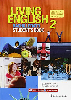 Libro Inglés 2º Bachillerato Living English 2 Students Book Burlington Books
