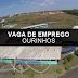 FACULDADE DE OURINHOS ABRE EXCELENTE VAGA DE EMPREGO