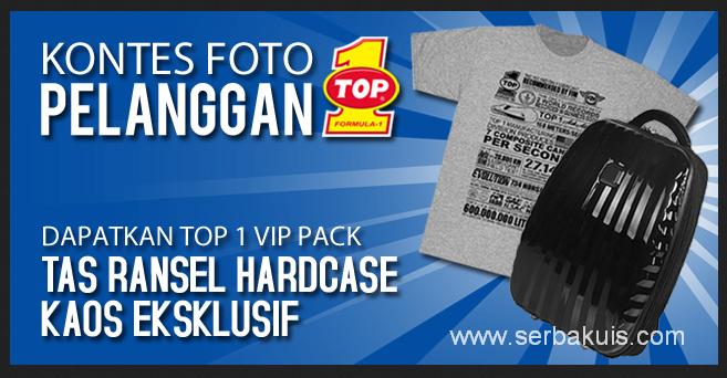 Kontes Foto Pelanggan TOP 1 Berhadiah 3 VIP Pack