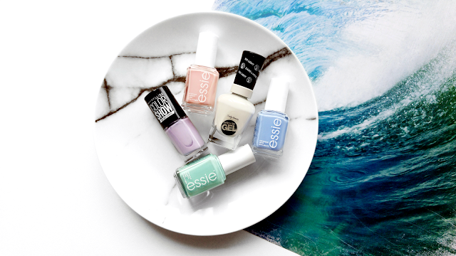 What Nail Polish To Wear In Summer, Summer Time Nail Polish, Pastel Nail Polish Colors For Summer, Pastel Nail Polish Colours For Summer