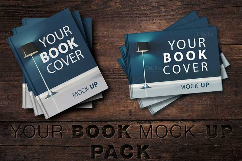 SALE-Book Cover Mock-UP Pack