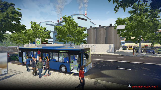 Bus Simulator 16 Gameplay Screenshot 1