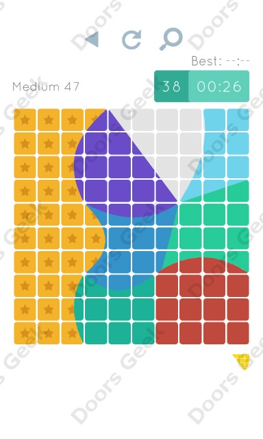 Cheats, Walkthrough for Blocks and Shapes Medium Level 47