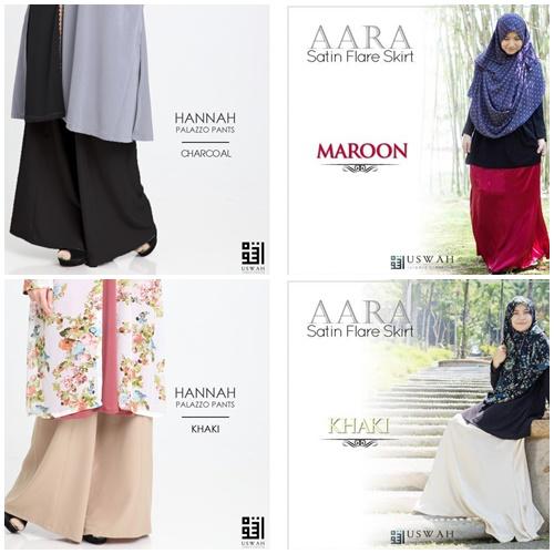 Cantik Bergaya Bersama Uswah Islamic Clothing