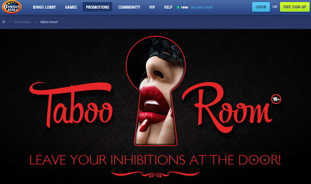 Taboo Room at Bingo Hall