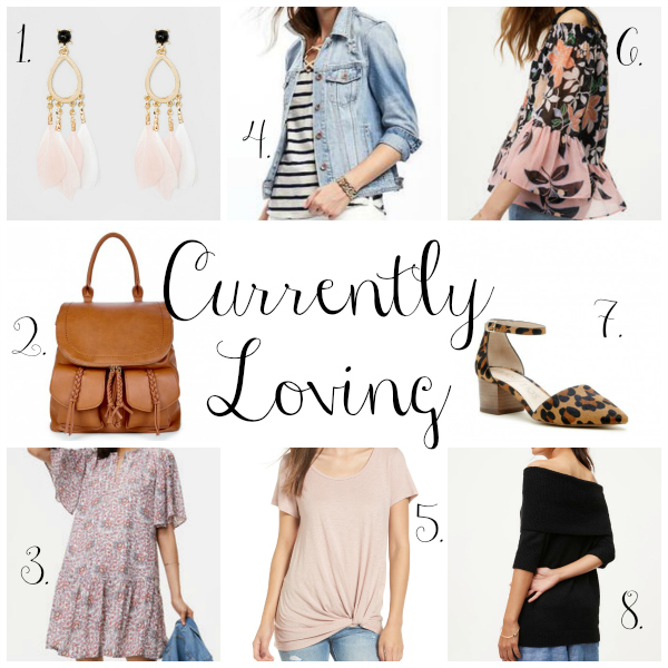 currently loving, north carolina blogger, style on a budget, shopping wish list