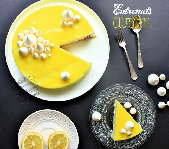 entremets gateau citron