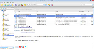 Open .eml files with EML Viewer Pro. Image shows main screen of EML Viewer Pro.
