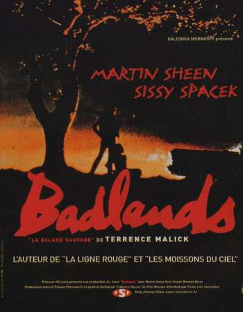 Poster Of Hollywood Film Watch Online Badlands 1973 Full Movie Download Free Watch Online 300MB