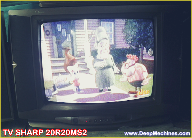 Perbaikan Mati Total karena Kerusakan Flyback pada TV Sharp 20-Inch (20R20MS2)