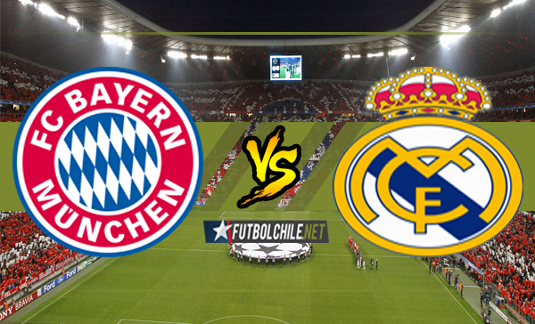 Ver stream hd youtube facebook movil android ios iphone table ipad windows mac linux resultado en vivo, online: Bayern Munich vs Real Madrid