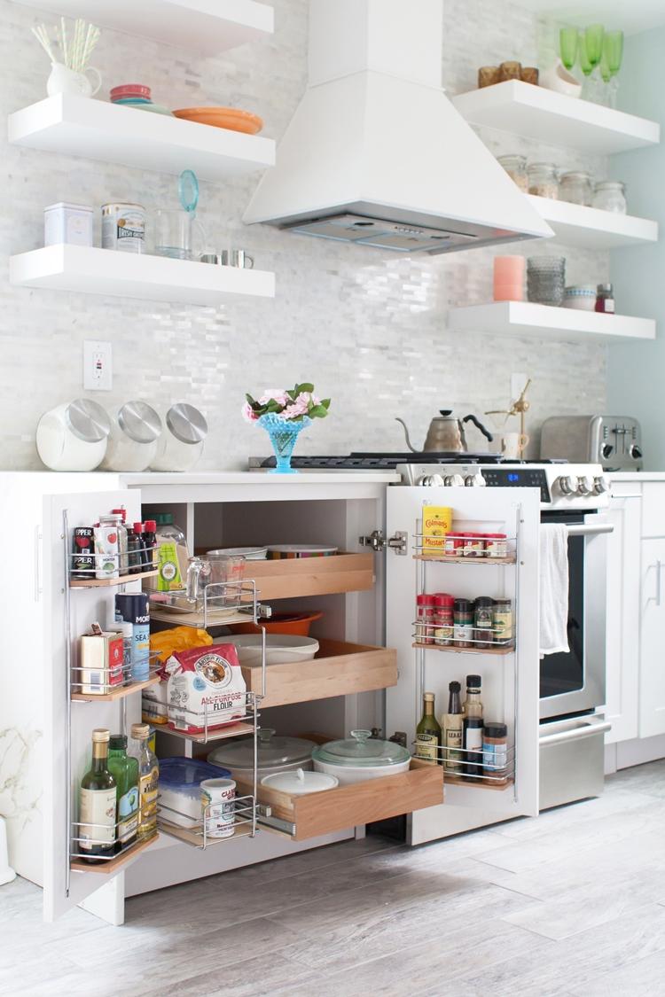 Soluciones de almacenaje para una cocina peque a for Almacenaje de cocina