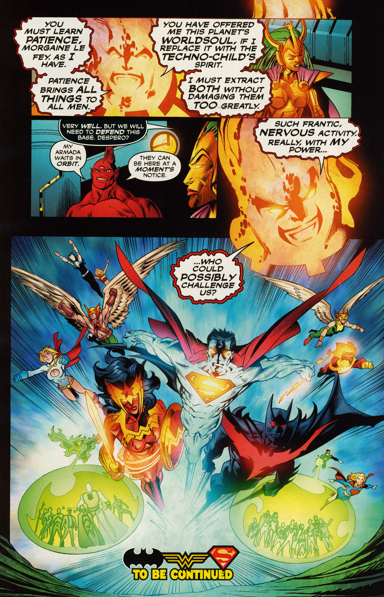 Read online Trinity (2008) comic -  Issue #46 - 17