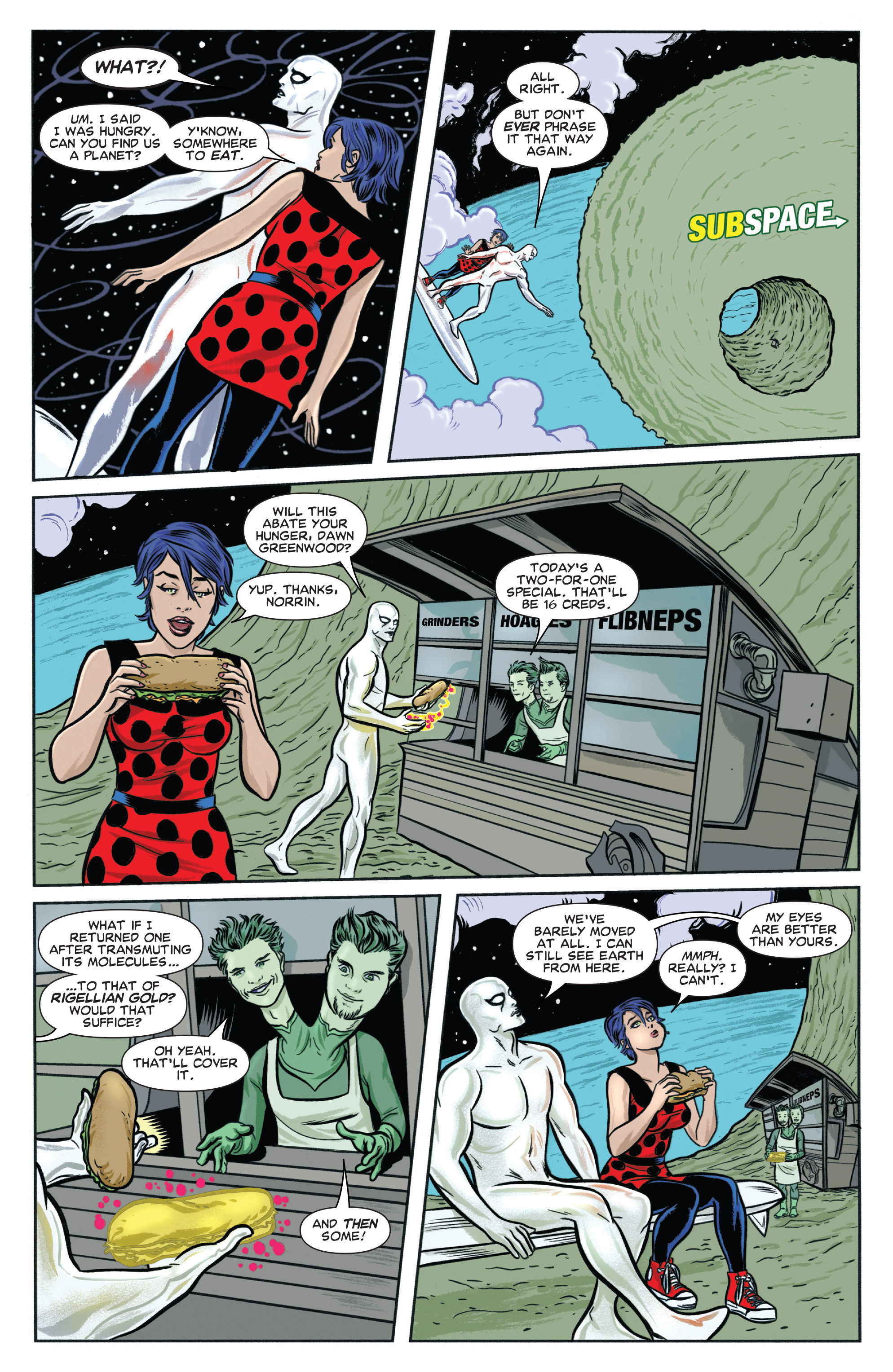 Read online Silver Surfer (2014) comic -  Issue #6 - 4