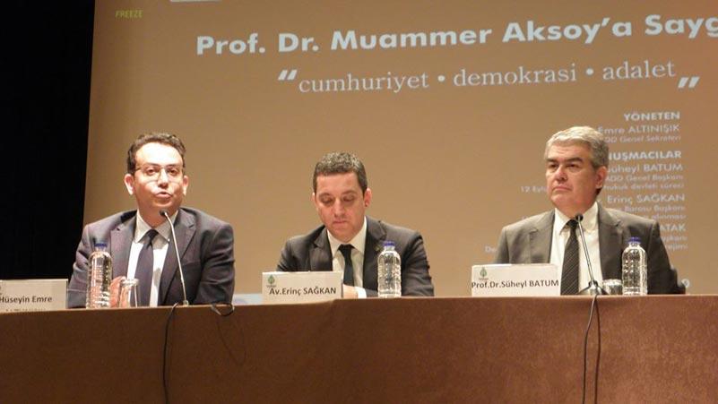"""""""Halkın Uyanışı Durdurulamaz"""" Cumhuriyet, Demokrasi, Adalet  Paneli"""