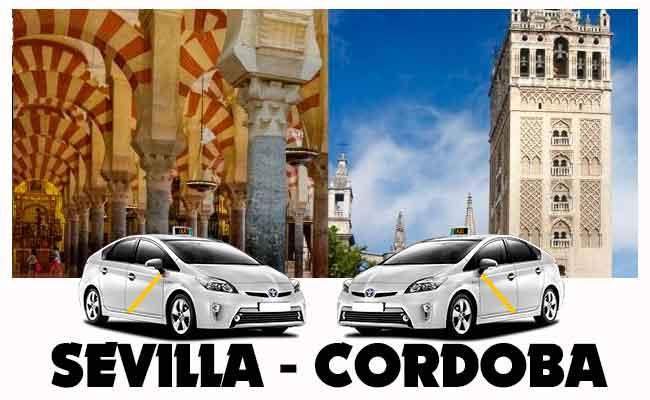 Precio taxi Sevilla-Córdoba