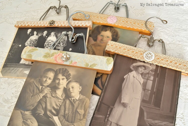Decorated Vintage Hangers
