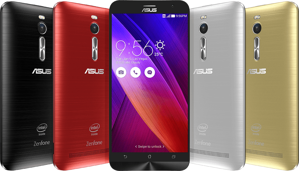 Asus ZenFone 2 - Highest Specs Android Smartphones in 2015