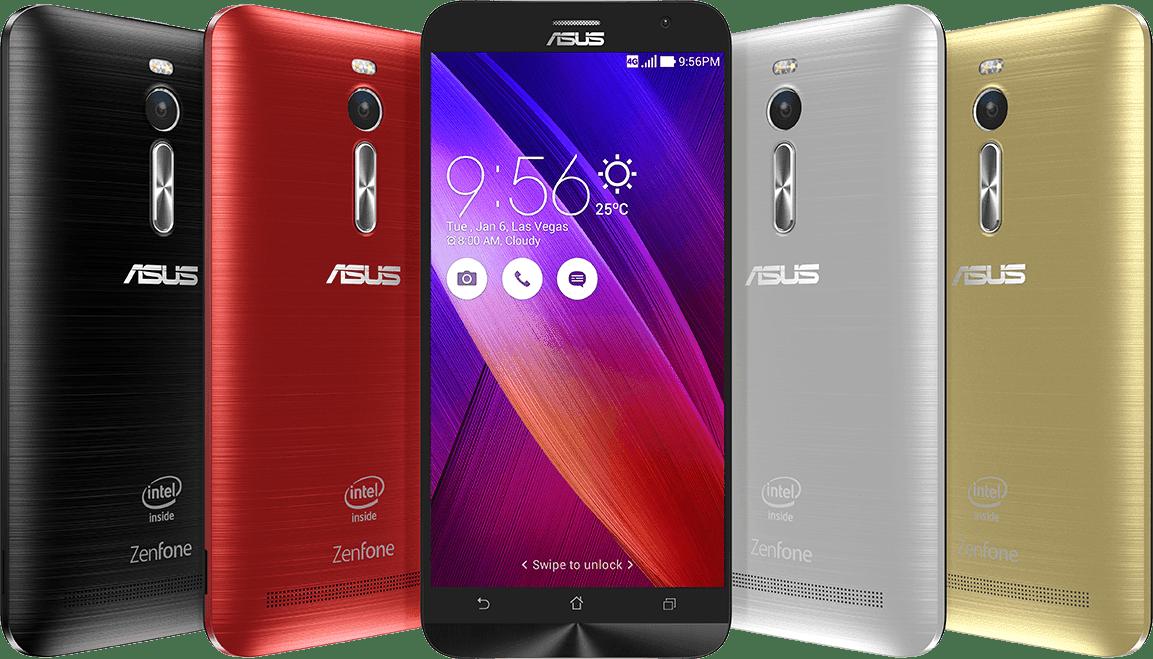 Asus ZenFone 2 - Highest Specs Android Smartphones in 2015