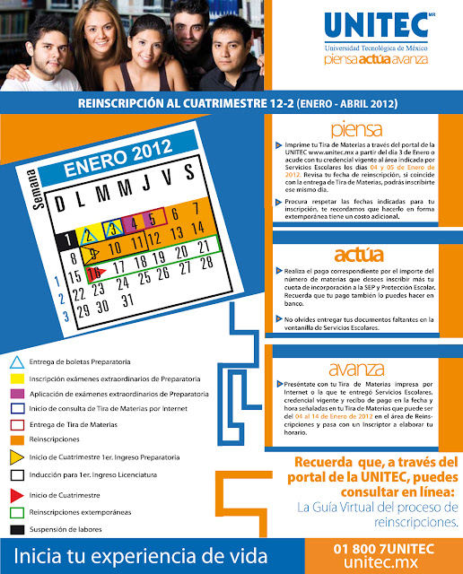 Reinscripciones al Ciclo 12-2 (Enero-Abril 2012) - Featured Image