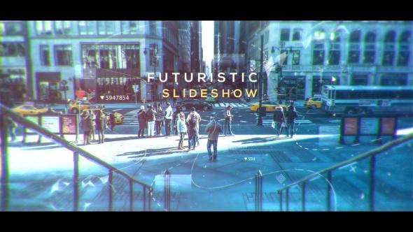 Futuristic Slideshow 19591528 Videohive - Free Download