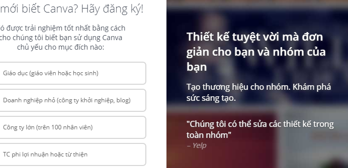 Chiến dịch SEO Canva