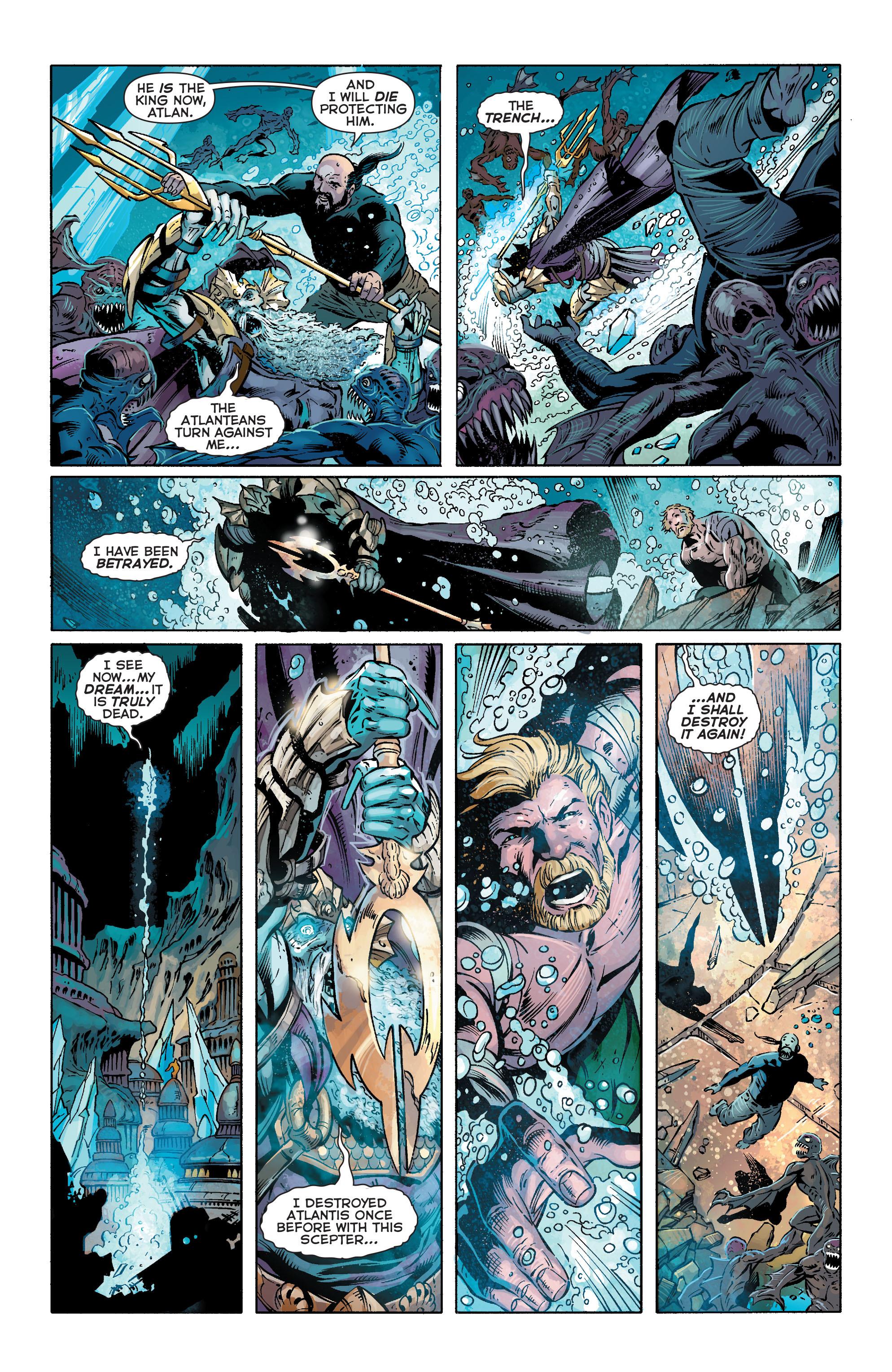 Read online Aquaman (2011) comic -  Issue #25 - 13