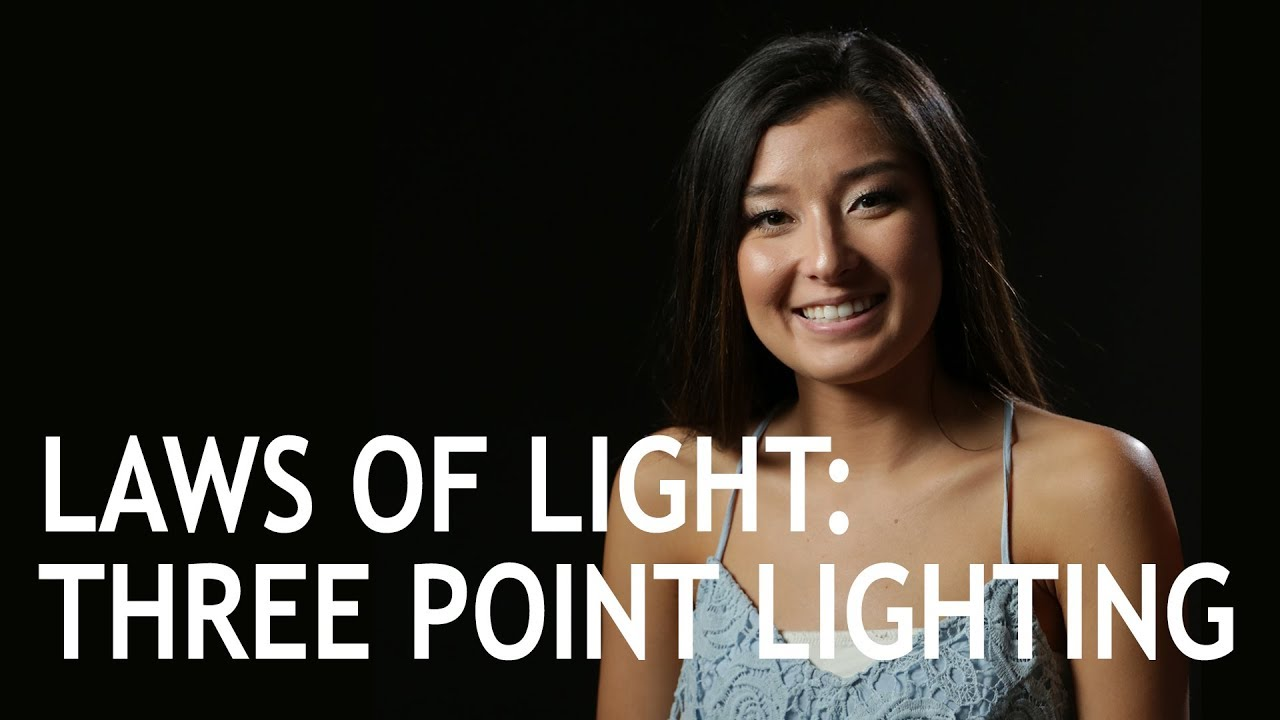 Laws of Light: Three Point Lighting