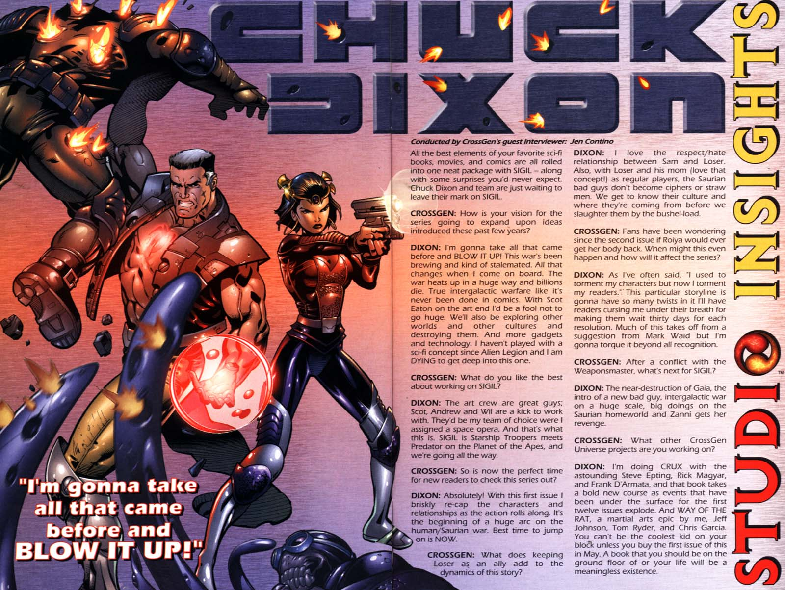 Read online Sigil (2000) comic -  Issue #21 - 30