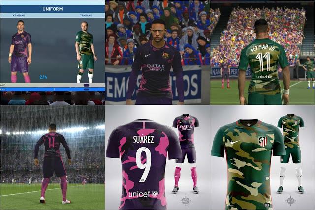 f5709d7f7 ultigamerz  PES 2017 FC Barcelona New Fantasy Kits