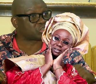 fayose wife lack moral