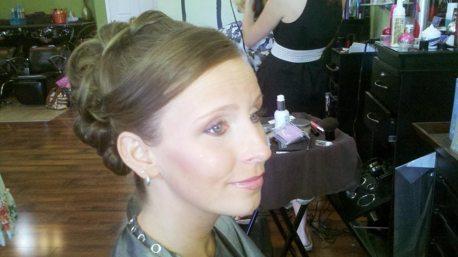 traverse city wedding hair stylist - bridal beauty salon