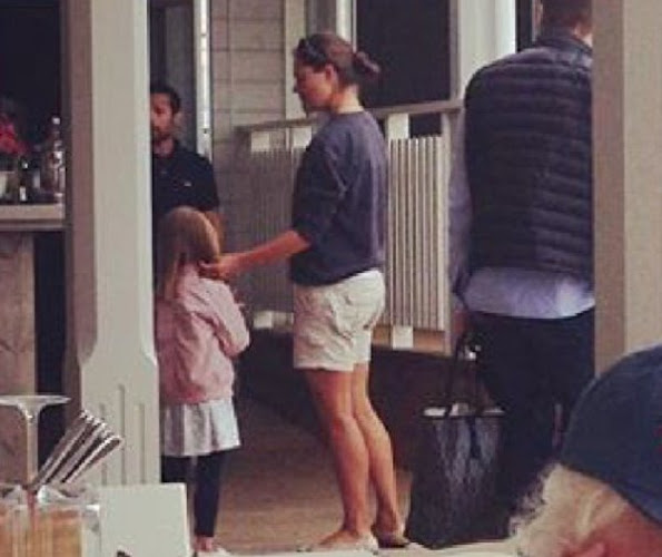 Crown Princess Victoria, Prince Daniel, Princess Estelle and Prince Oscar visited Arkösund island hotel restaurant