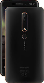 Nokia 6 2018 Black/Copper