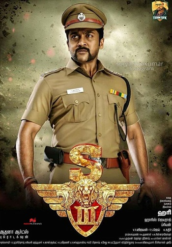 Singam 3 2017 Hindi Dubbed DTHRip 700MB