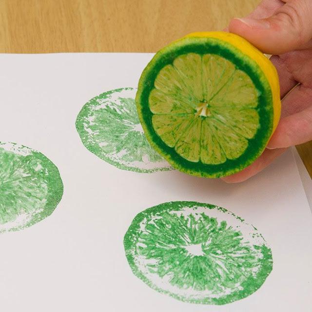 limon-baskısı-dekoratif-boyama