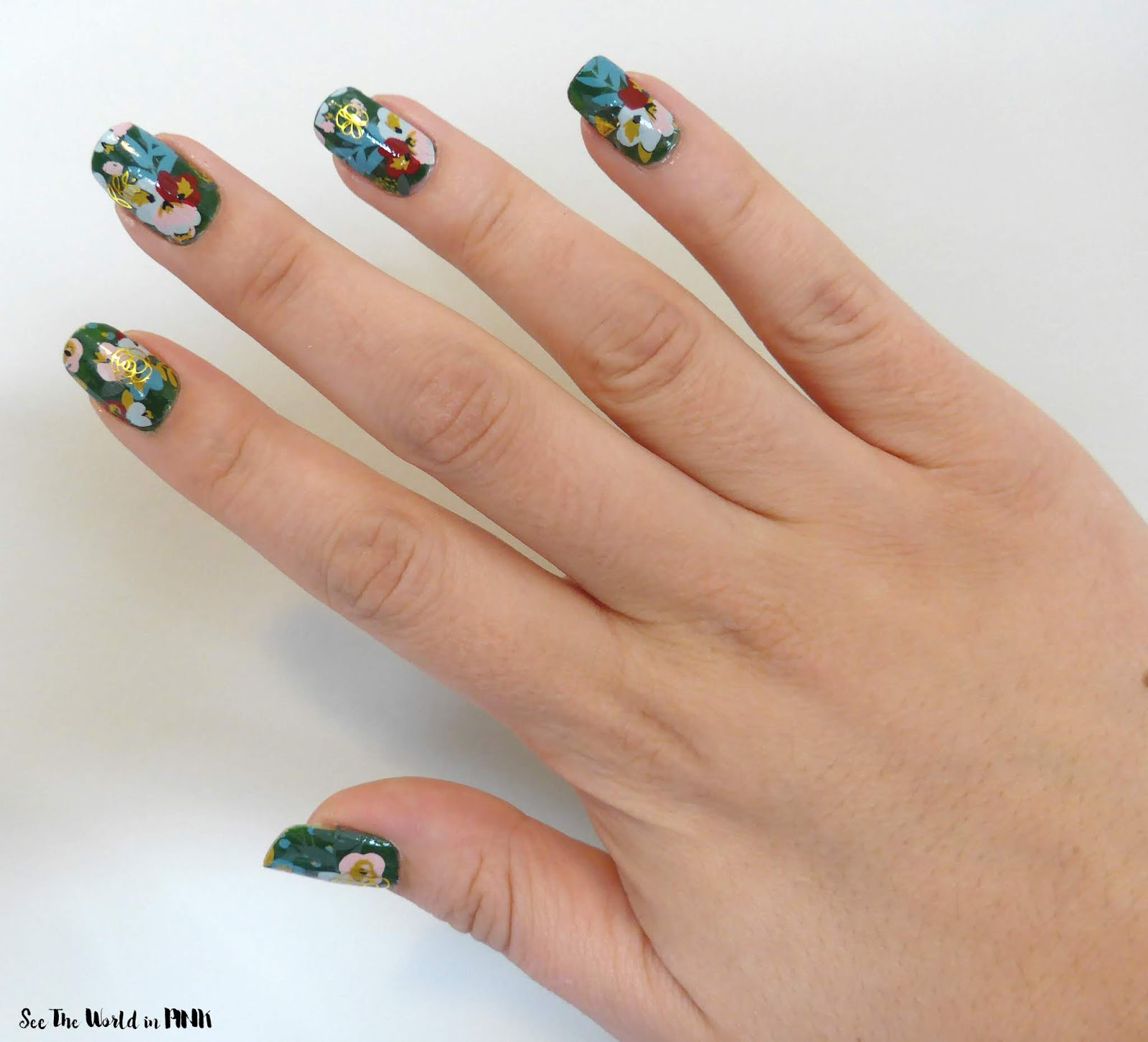 Manicure Monday - Spring Bloom Nails