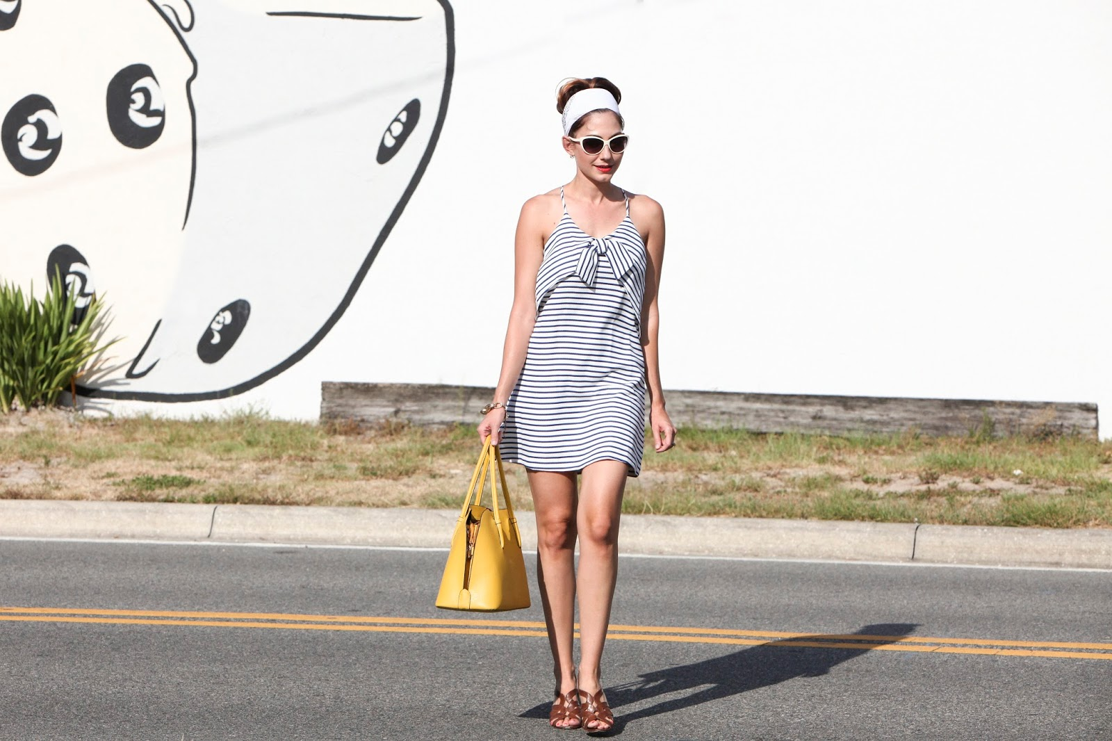 Amy West in Maeve Ahoy Shift from Anthropologie