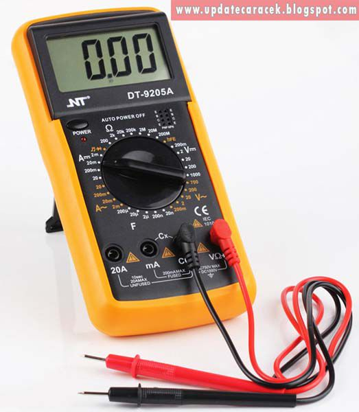 gambar avometer multimeter multitester digital