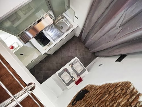 07-Birds-Eye-View-of-Kitchen-and-Dining-Smallest-House-in-Italy-75-sq-Feet-7-m2-Italian-Architect-Marco-Pierazzi-www-designstack-co