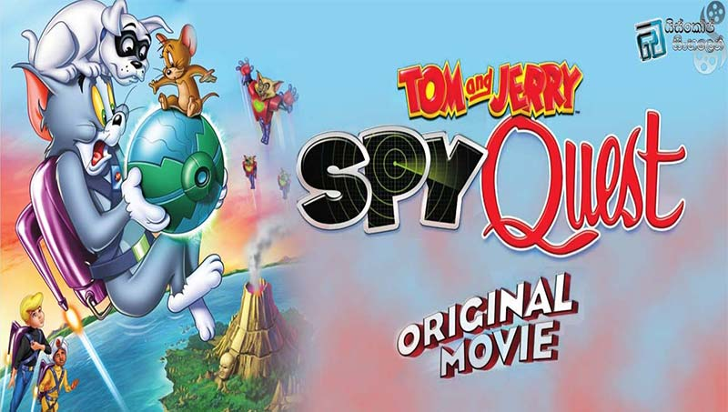 Tom and Jerry Spy Quest 2015 Hindi 720p HDRip Dual Audio ESubs Movie Poster