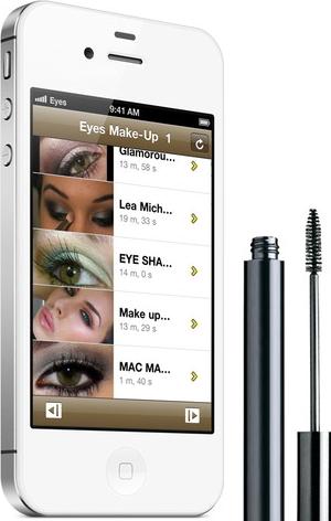 Top iphone eye makeup apps 2013